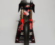 yes pit bike frontale su cavalletto