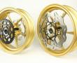 yes cerchi oro con disco e corona completi